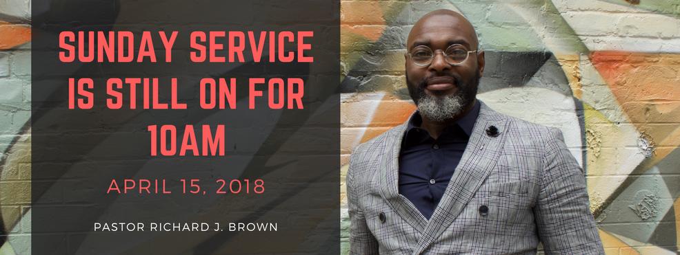 Service Announcement Apr 15 2018