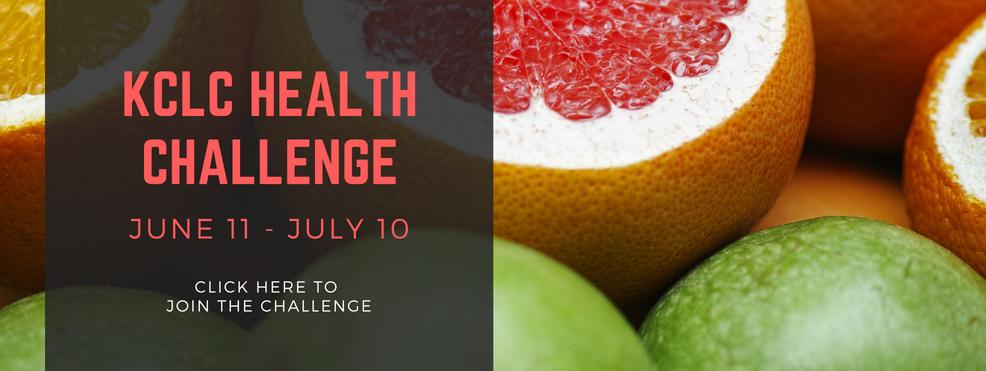 KCLC 30 Days Health Challenge