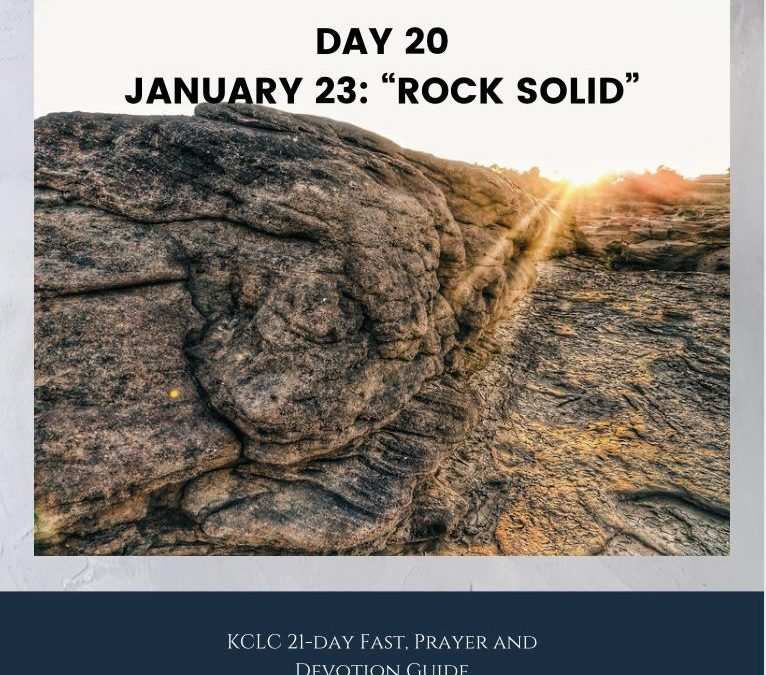 Kingsway 21-day Fast, Prayer and Devotion Guide – Day 20