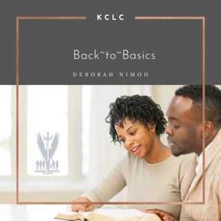 """Week 12 Devotion – April 19, 2021 – """"Back to Basics: Who is He?"""""""