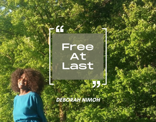 "Week 11 Devotion – Monday April 12th – ""Free at Last"""