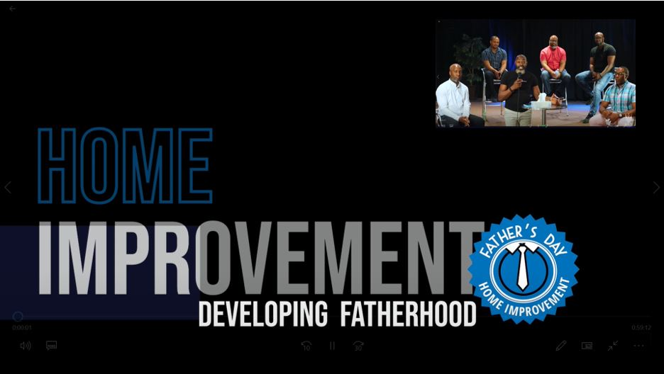 Sunday June 20th // Father's Day Discussion