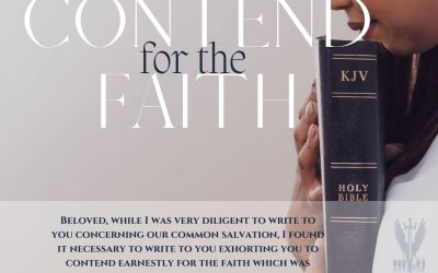 """Week 25 Devotion // """"Contend for the Faith"""""""